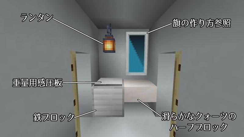 たまご型モダンハウスのパウダールーム詳細