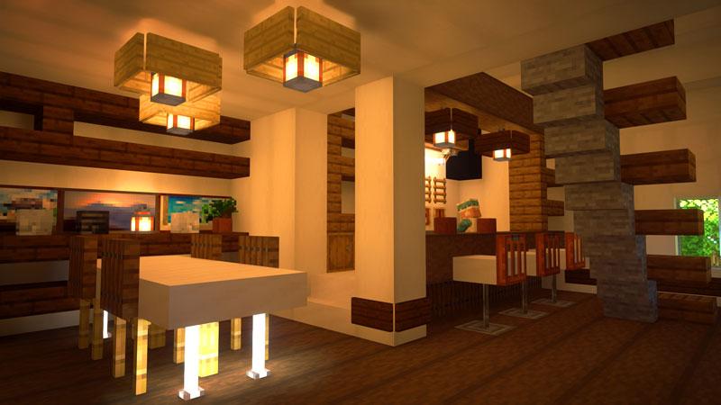 骨ブロックで作るおしゃれな家の内装の作り方
