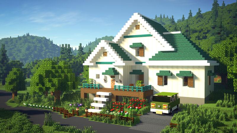 骨ブロックで作るおしゃれな家の作り方