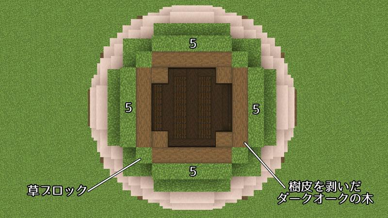 新たまご型モダンハウスの屋根の作り方2