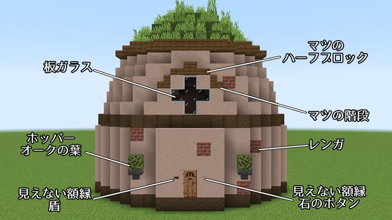 新たまご型モダンハウスの正面外壁の作り方1