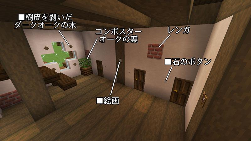 新たまご型モダンハウスの1階ドアの周りを飾る方法