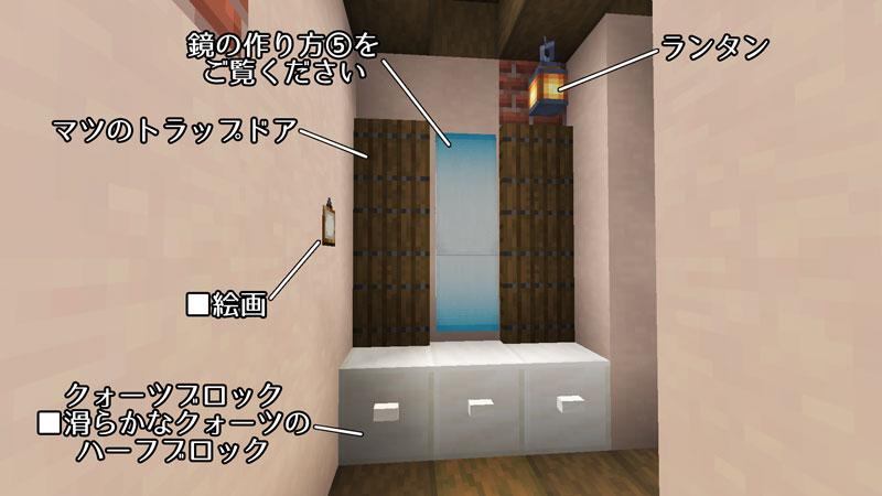新たまご型モダンハウスの洗面台の作り方