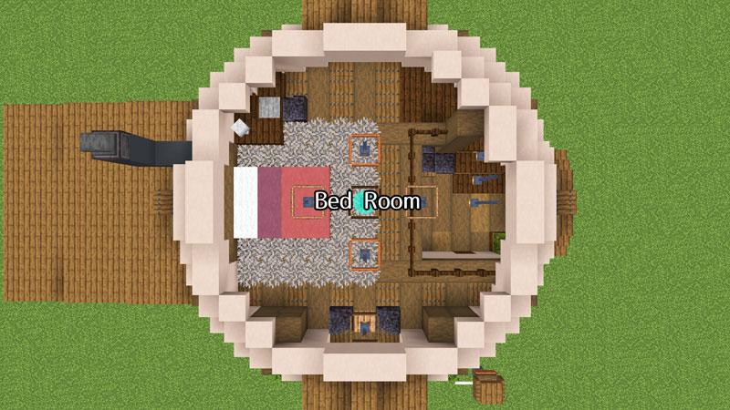 新たまご型モダンハウスの2階の間取りご紹介
