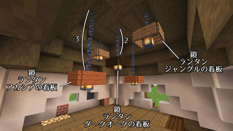 新たまご型モダンハウスの2階の照明