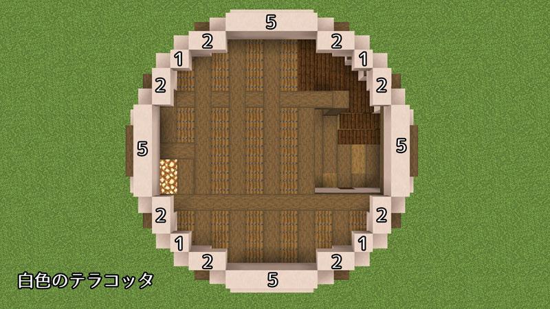 新たまご型モダンハウスの2階の壁の作り方2