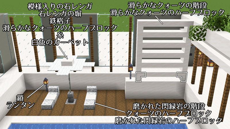 豪華なモダンハウスの正面外壁の作り方3