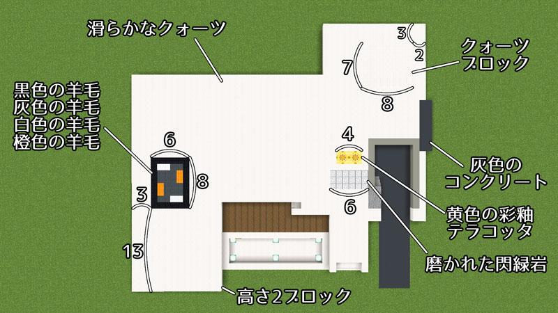 豪華なモダンハウスの1階床の作り方