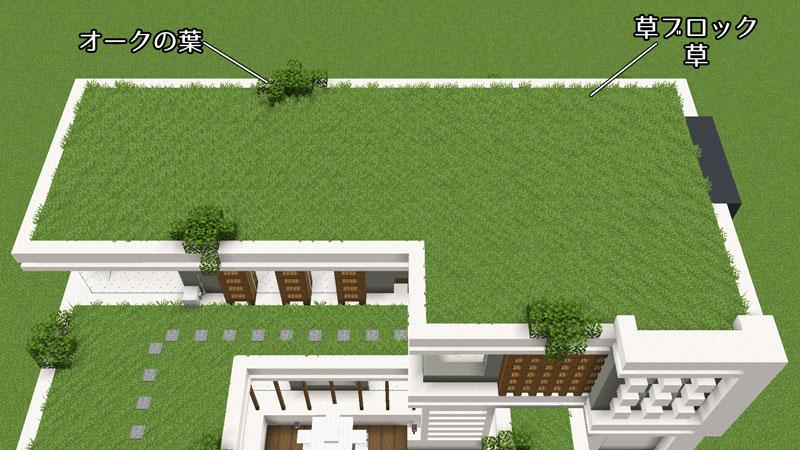 豪華なモダンハウスの草屋根の作り方