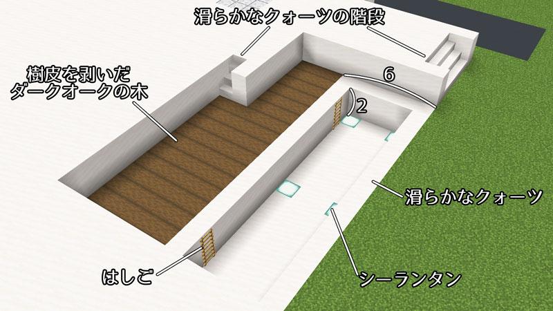 豪華なモダンハウスのプールの作り方