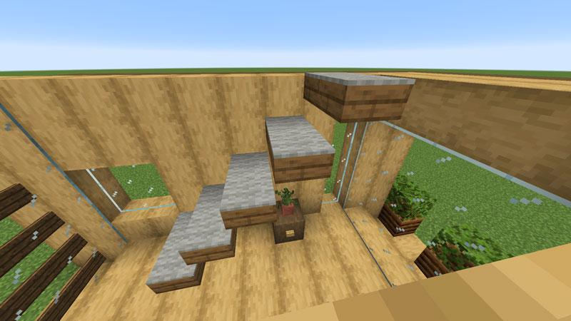 木の温もりがあるモダンな家の階段の作り方