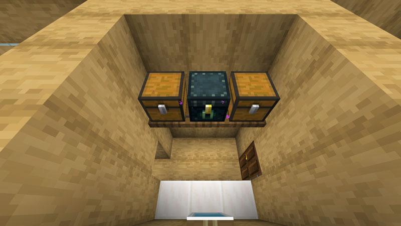 木の温もりがあるモダンな家のパウダールーム収納の作り方
