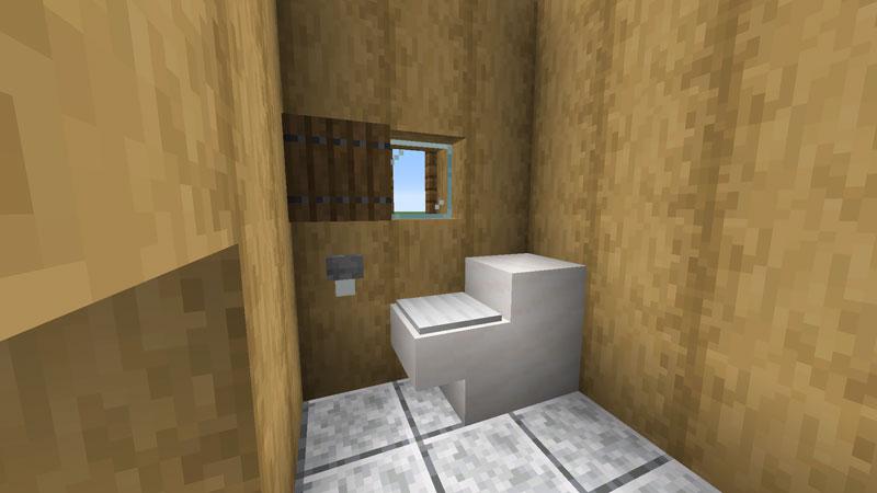 木の温もりがあるモダンな家のトイレの作り方