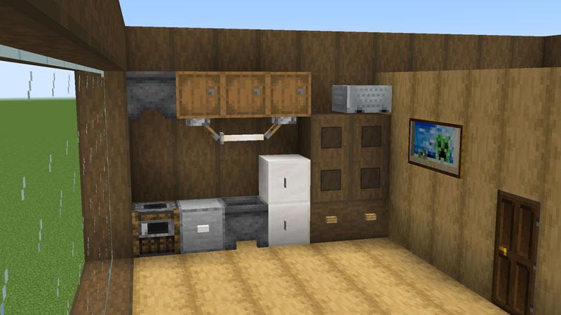 木の温もりがあるモダンな家のキッチンの作り方