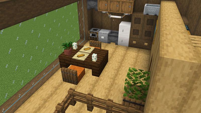 木の温もりがあるモダンな家のダイニングの作り方
