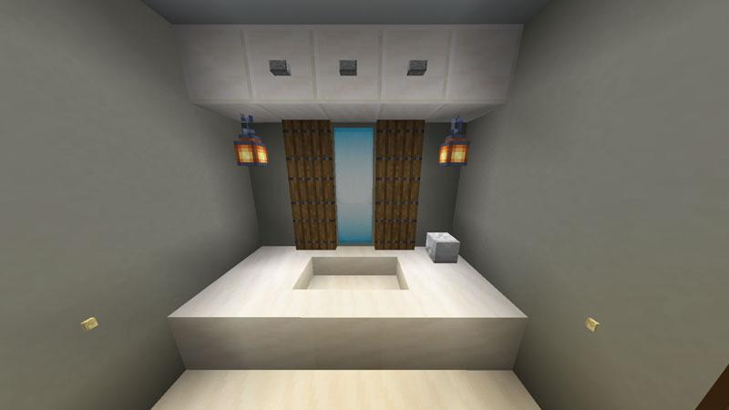 豪華なモダンハウスの洗面台の作り方