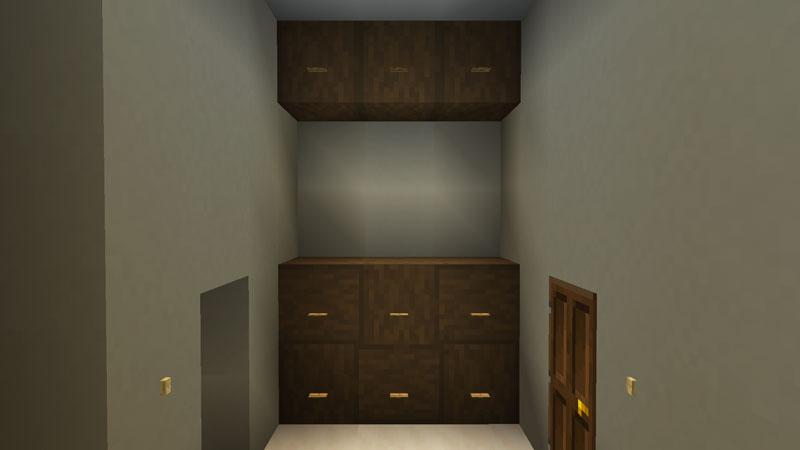 豪華なモダンハウスのランドリールームの収納の作り方
