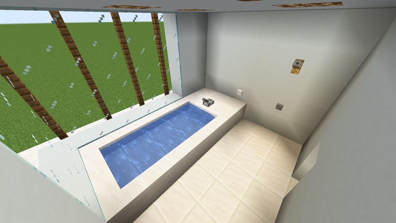 豪華なモダンハウスのバスルームの作り方