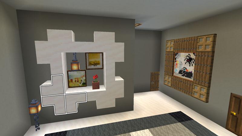 豪華なモダンハウスの2階ホールの作り方