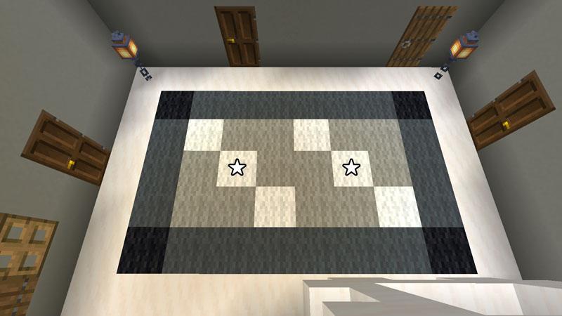 豪華なモダンハウスの2階ホールのカーペットの作り方