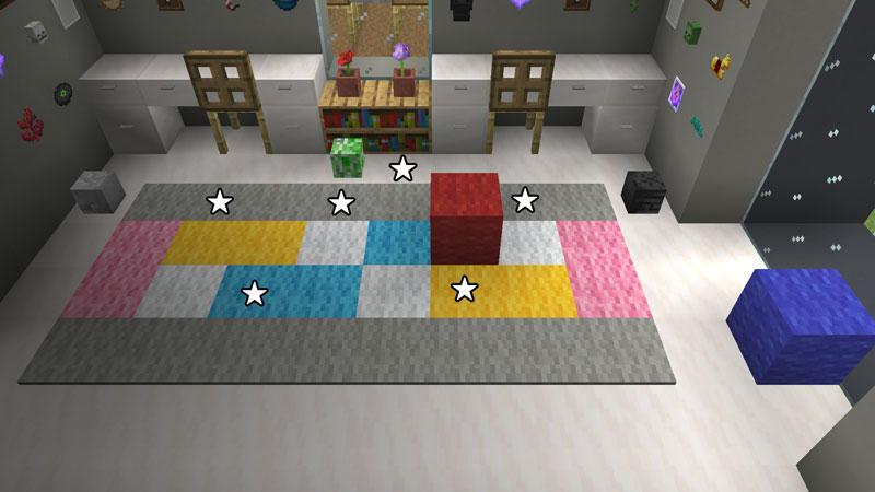 豪華なモダンハウスの子供部屋のカーペットの作り方