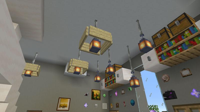 豪華なモダンハウスの子供部屋の照明の作り方