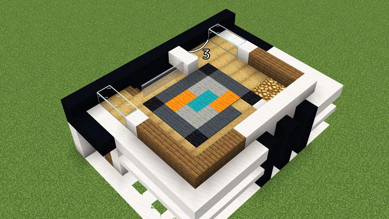 超コンパクトモダンハウスの2階間取りの作り方