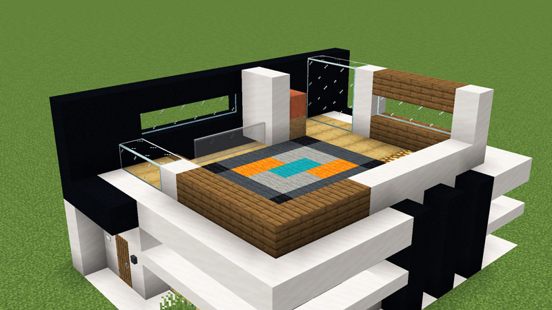 超コンパクトモダンハウスの2階外壁の作り方