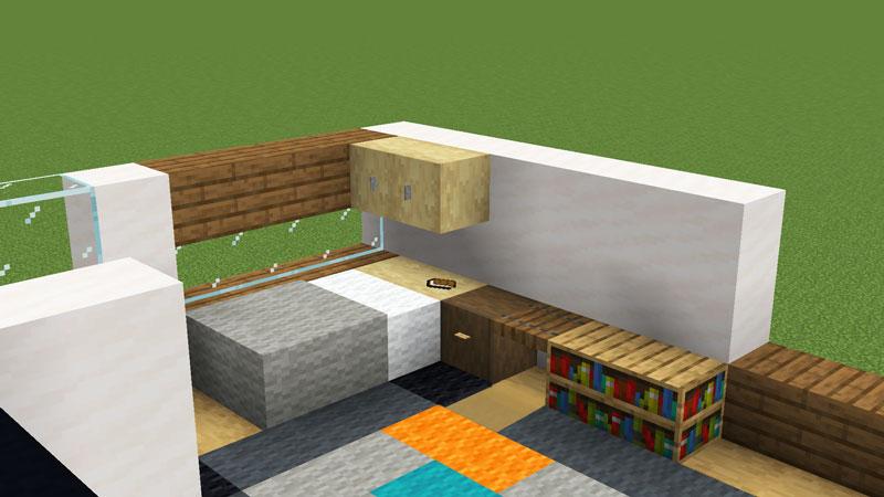 超コンパクトモダンハウスのベッドの作り方