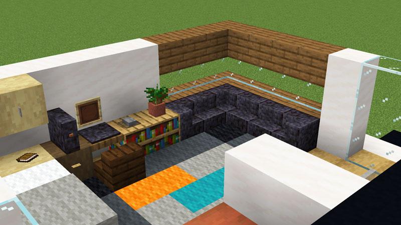 超コンパクトモダンハウスのソファの作り方