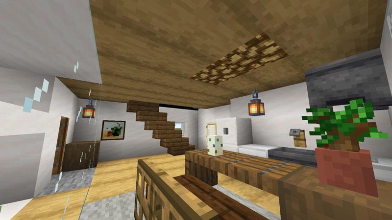 超コンパクトモダンハウスの1階照明の作り方