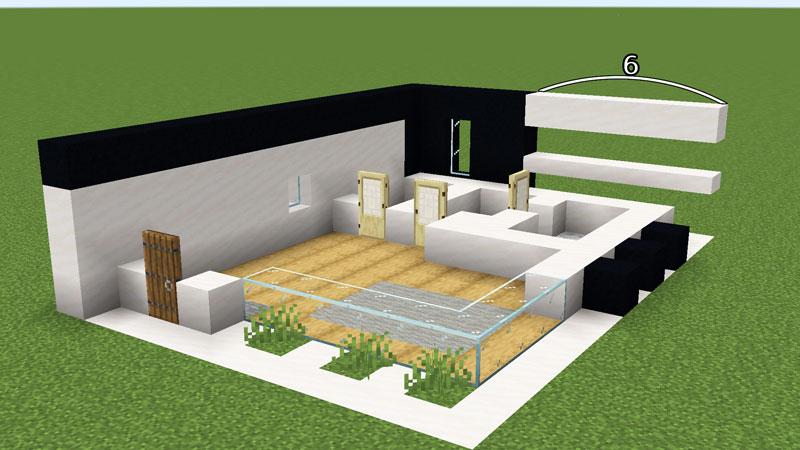 超コンパクトモダンハウスの1階外壁の作り方