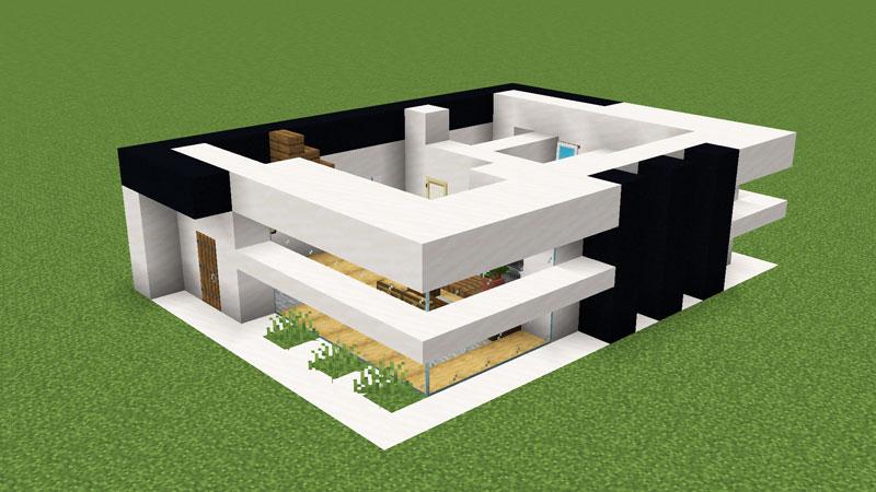 超コンパクトモダンハウスの1階外壁の作り方2