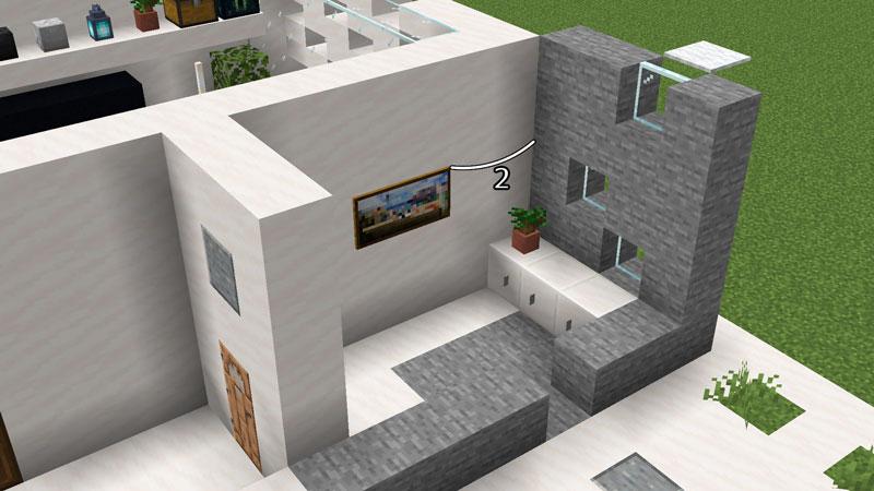 ハーフブロックでおしゃれに魅せるモダンハウスの玄関の作り方