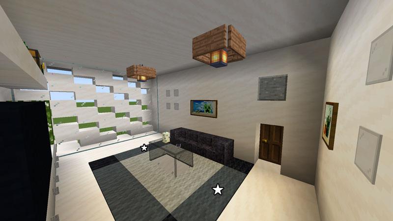 ハーフブロックでおしゃれに魅せるモダンハウスのリビングルーム照明の作り方