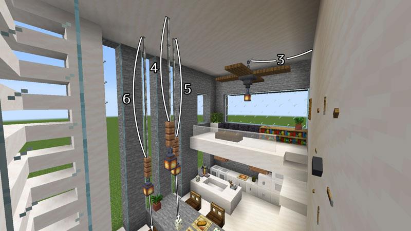 ハーフブロックでおしゃれに魅せるモダンハウスのダイニングとロフトの照明の作り方