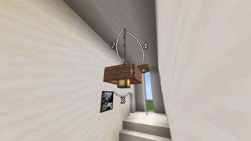 ハーフブロックでおしゃれに魅せるモダンハウスの階段の照明の作り方