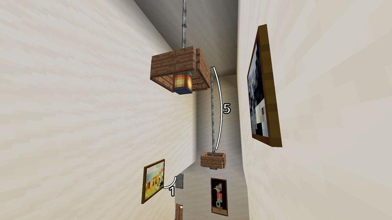 ハーフブロックでおしゃれに魅せるモダンハウスの階段の照明の作り方2