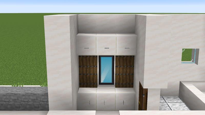 ハーフブロックでおしゃれに魅せるモダンハウスのパウダールームの作り方